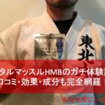 【メタルマッスルHMBのガチ体験談】口コミ・効果・成分も完全網羅!