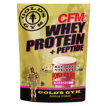 GOLD'S GYM(ゴールドジム)ホエイプロテイン+ホエイペプチド&ビタミンB群